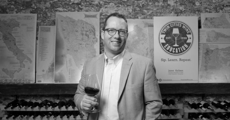 Twin Cities Wine owner and founder Jason Kallsen
